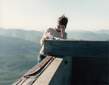 Me on Garfield c  1989