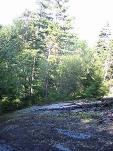 Steep slab on Percy Peaks Trail